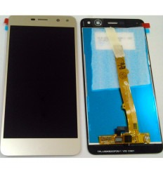 Huawei Y6 2017 original display lcd with gold touch screen
