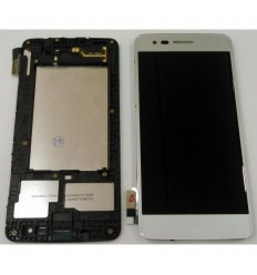 LG K8 2017 MS210 original display lcd with silver touch screen with frame