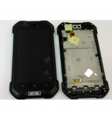BLACKVIEM BV6000S PANTALLA LCD + TACTIL NEGRO + MARCO ORIGINAL