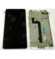 XIAOMI MI MAX PANTALLA LCD + TACTIL NEGRA + MARCO BLANCO ORIGINAL