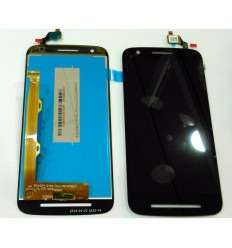 Motorola Moto E3 Power original display lcd with black touch screen