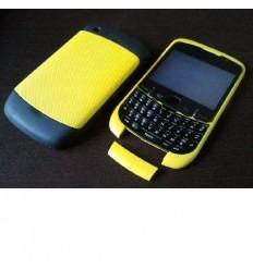 Carcasa completa amarilla Blackberry 9300