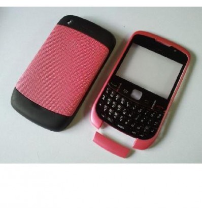 Carcasa completa rosa Blackberry 9300