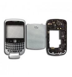 Carcasa completa plata Blackberry 9300
