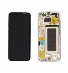 SAMSUNG GH97-20457F GALAXY S8 G950F PANTALLA LCD + TÁCTIL DORADO ORIGINAL