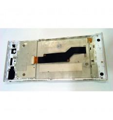 SONY XPERIA XA1 G3121 G3123 G3125 PANTALLA LCD + TACTIL BLANCO + MARCO ORIGINAL
