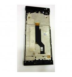 Sony Xperia XA1 G3121 G3123 G3125 pantalla lcd + tactil negro + marco original