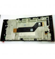 SONY XPERIA XA1 ULTRA G3226 G3212 G3223 G3221 PANTALLA LCD + TACTIL ROSA + MARCO ORIGINAL