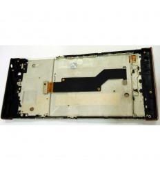 Sony Xperia XA1 G3121 G3123 G3125 pantalla lcd + tactil dorado + marco original