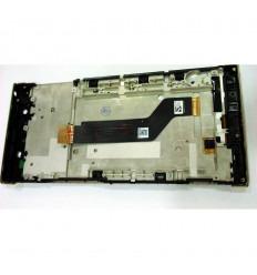 SONY XPERIA XA1 ULTRA G3226 G3212 G3223 G3221 PANTALLA LCD + TACTIL DORADO + MARCO ORIGINAL