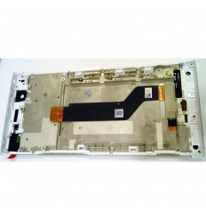 Sony Xperia XA1 Ultra G3226 G3212 G3223 G3221 original display lcd with white touch screen with frame