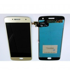 Motorola Moto G5 Plus original display lcd with gold touch screen