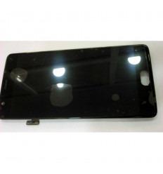 ONEPLUS 3 PANTALLA LCD + TACTIL NEGRO + MARCO ORIGINAL