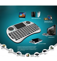 MINI TECLADO WIRELESS +TOUCHPAD UKB-500-RF