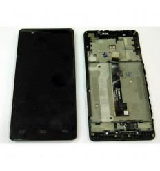 BQ AQUARIS E5 4G E5S PANTALLA LCD + TÁCTIL NEGRO + MARCO ORIGINAL TFT5K0982FPC-A2-E