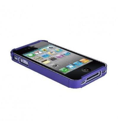 Protector metalico lila para iPhone 4 y 4S 28014J