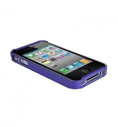Purple Metal protector for iPhone 4 and 4S 28014J