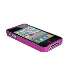Protector metalico rosa para iPhone 4 y 4S 28014Z