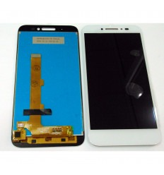 Alcatel One Touch Shine Lite 5080X original display lcd with white touch screen