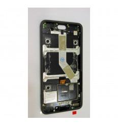 MEIZU MEILAN X M3X HELIO PANTALLA LCD + TÁCTIL GRIS + MARCO ORIGINAL