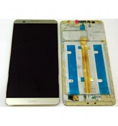HUAWEI ASCEND MATE 7 PANTALLA LCD + TÁCTIL DORADO + MARCO ORIGINAL