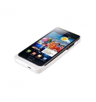 2200 mAh External Battery for SAMSUNG Galaxy SII i9100 white