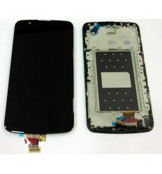 LG K10 K410 K420N K430y K430DS K430DSE K430DSF pantalla lcd + táctil negro + marco original