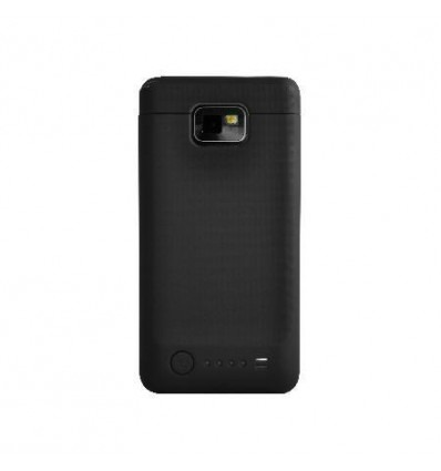 2200 mAh External Battery for SAMSUNG Galaxy SII i9100 black
