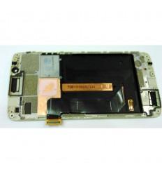 ZTE AXON 7 MINI PANTALLA LCD + TACTIL DORADO + MARCO ORIGINAL