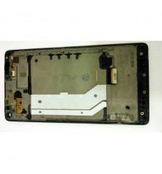 NOKIA MICROSOFT LUMIA 950 XL 950XL PANTALLA LCD + TÁCTIL NEGRO + MARCO ORIGINAL
