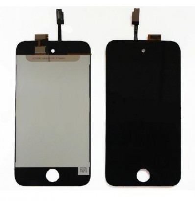 iPod touch 4 lcd whith black touch screen