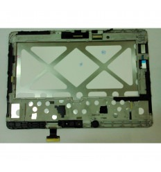 Samsung Galaxy Tab Pro 10.1 SM-T520 original display lcd with white touch screen with frame
