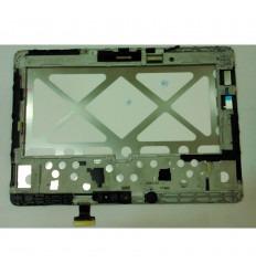 Samsung Galaxy Tab Pro 10.1 SM-T520 pantalla lcd + táctil blanco + marco original