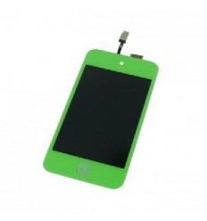 iPod Touch 4 pantalla lcd + táctil verde + botón home verde