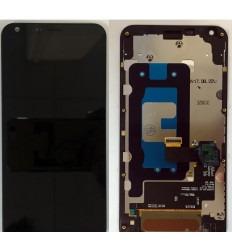LG Q6 M700A PANTALLA LCD + TACTIL NEGRO + MARCO ORIGINAL