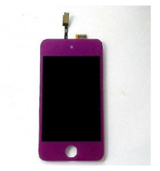 iPod touch 4 lcd whith touch screen purple and home button