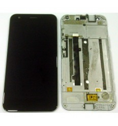 ZTE Blade A512 original display lcd with black touch screen with frame