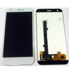 ZTE Blade A512 original display lcd with white touch screen