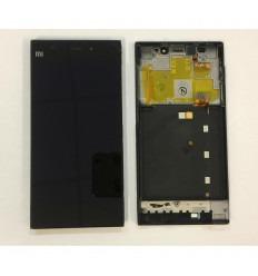 XIAOMI MIUI M3 PANTALLA LCD + TACTIL NEGRO+ MARCO ORIGINAL