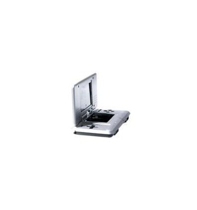 Shell silver for Nintendo DS