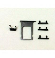 IPhone 8 A1863 A1905 A1906 8 Plus A1864 A1897 A1898 original sidekey with sim tray black
