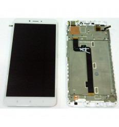 XIAOMI MI MAX 2 PANTALLA LCD + TACTIL BLANCO + MARCO ORIGINAL