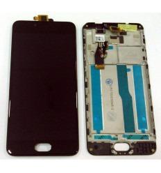 Meizu Meilan M5S 5S pantalla lcd + tactil negro + marco original