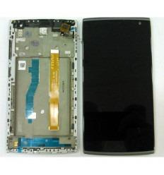 ALCATEL M812 ORANGE NURA PANTALLA LCD + TÁCTIL NEGRO + MARCO ORIGINAL
