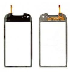 Pantalla táctil original + frame Nokia C7 negro