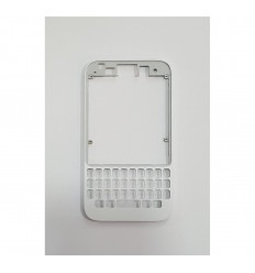 BLACKBERRY Q5 MARCO FRONTAL BLANCO ORIGINAL