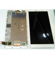 HUAWEI ASCEND P8 MAX PANTALLA LCD + TACTIL BLANCO + MARCO ORIGINAL
