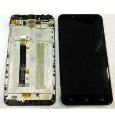 ASUS ZENFONE 3 MAX ZC553KL PANTALLA LCD + TACTIL NEGRO + MARCO ORIGINAL