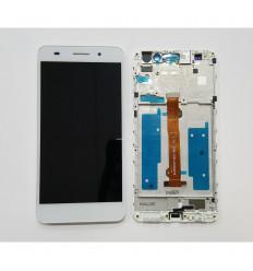 HUAWEI ASCEND Y6II HONOR HOLLY 3 PANTALLA LCD + TÁCTIL BLANCO + MARCO ORIGINAL