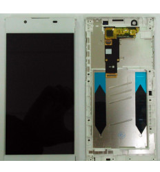 Sony Xperia L1 G3311 G3312 G3313 original display lcd with white touch screen with frame